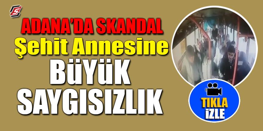Adana'da skandal! Şehit annesine büyük saygısızlık