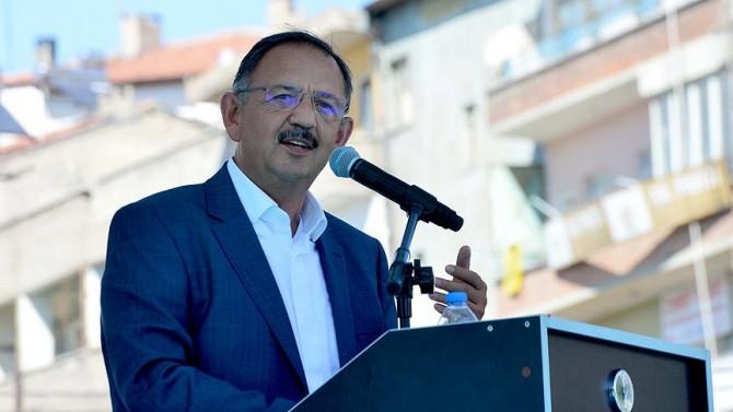 """Özhaseki'den Belediyelere """"kentsel dönüşüm"""" eleştirisi"""
