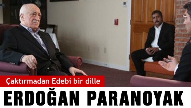 Gülen'den Erdoğan'a ağır benzetme