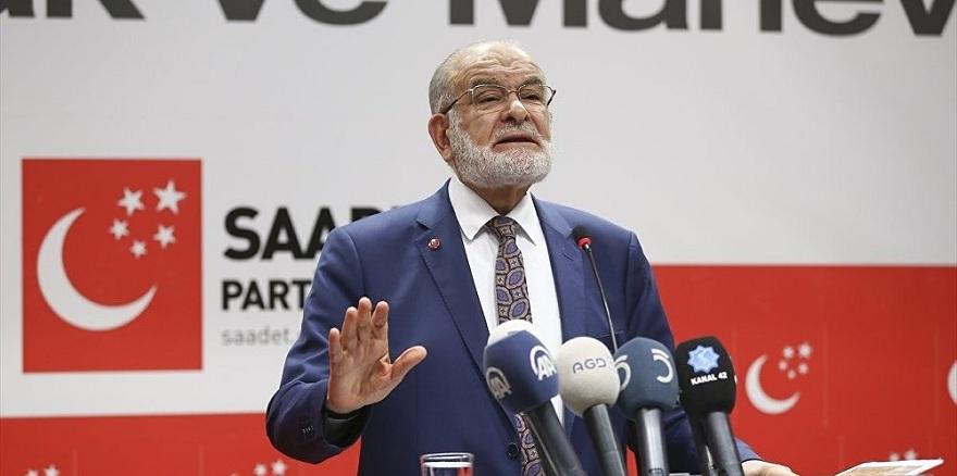 Saadet Partisi'nden kritik 'Erken Seçim' açıklaması