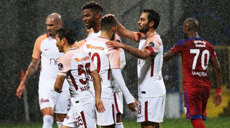 Galatasaray'dan tarihi galibiyet