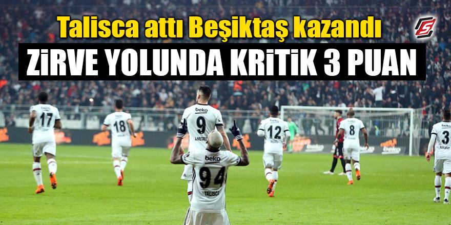 Beşiktaş, Gençlerbirliği'ni mağlup etti