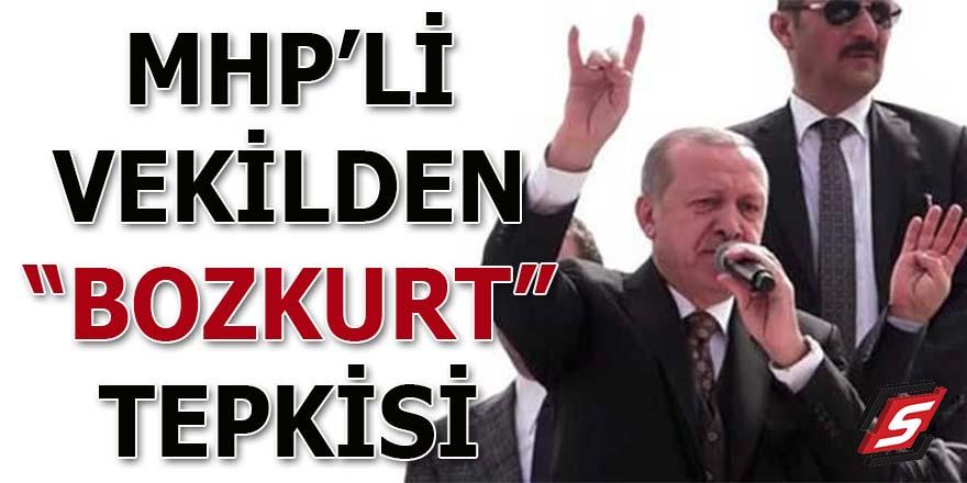 "MHP'li vekilden ""Bozkurt"" tepkisi"