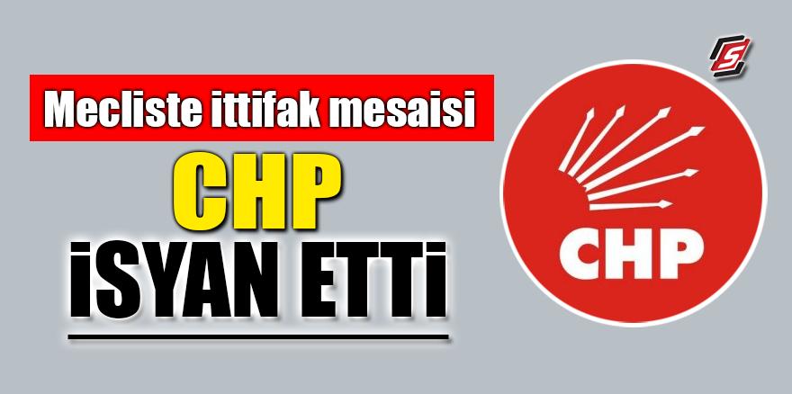 Meclis'te ittifak mesaisi! CHP isyan etti