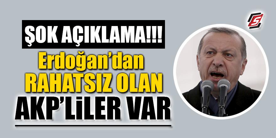 Şok Açıklama! Erdoğan'dan rahatsız olan AKP'liler var