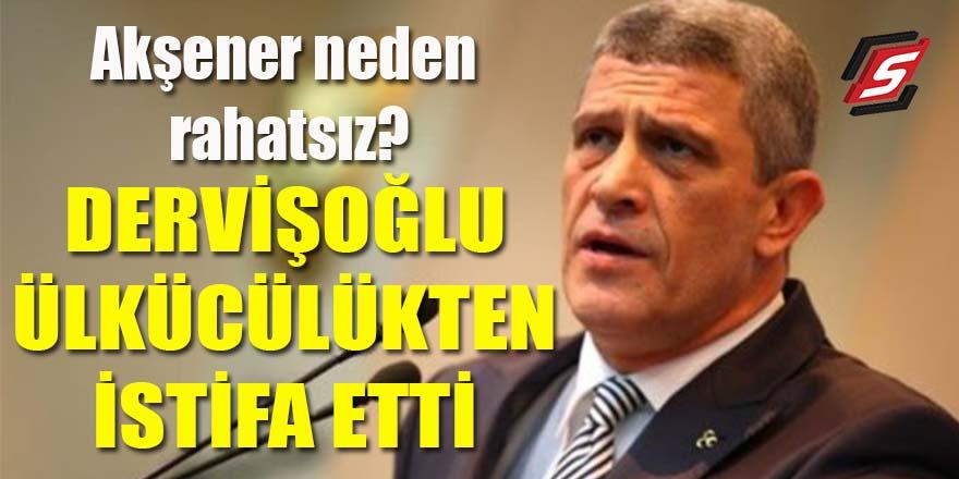 Musavat Dervişoğlu Ülkücülük'ten istifa etti!