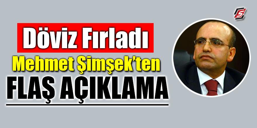 Döviz fırladı! Mehmet Şimşek'ten flaş açıklama