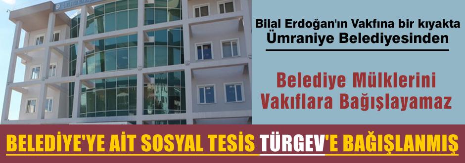 Belediyeye ait tesis TÜRGEV'e nasıl verildi?