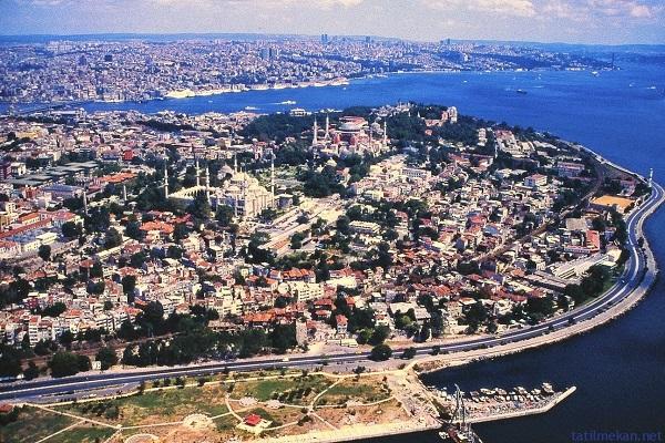 'Yedi Tepeli İstanbul'un hangi tepeler üzerine kurulduğunu biliyor musunuz?
