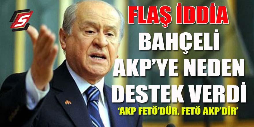 Bahçeli AK Parti'ye neden destek verdi?