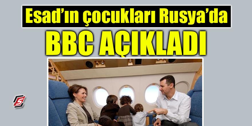Esad'ın çocukları Rusya'da! BBC açıkladı