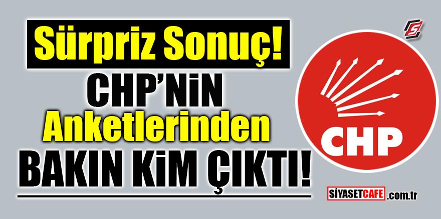 CHP'nin anketlerinden bakın kim çıktı!