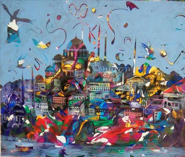 'Büyüleyen Şehir İstanbul' sergisi sanatseverleri bekliyor