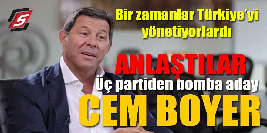 Üç partiden Cumhurbaşkanlığına bomba aday: Cem Boyner!