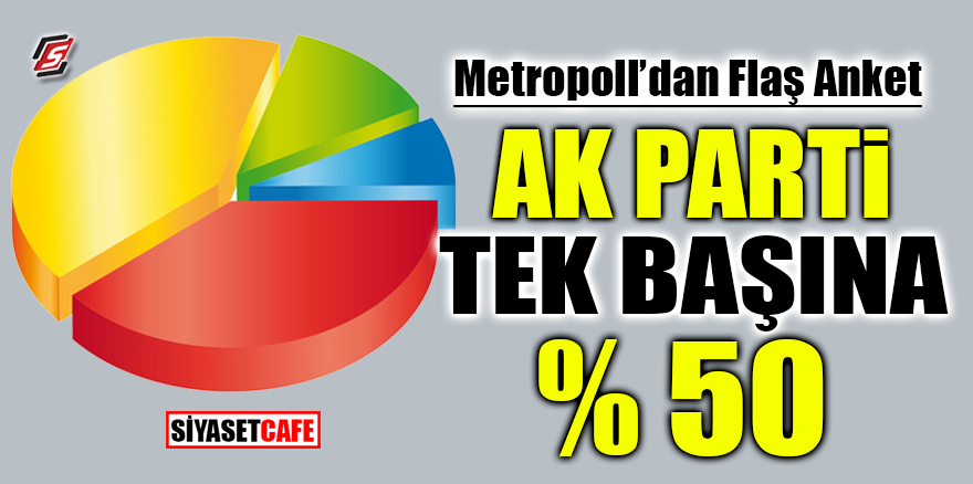 Metropoll'den flaş anket! AK Parti tek başına % 50