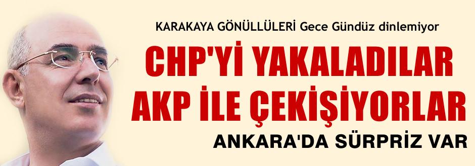 Ankara'da Karakaya Sürprizi