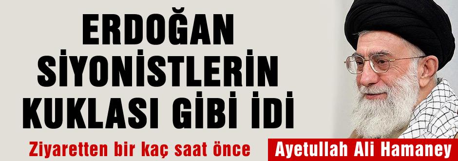 'Erdoğan Siyonistlerin kuklası gibiydi'