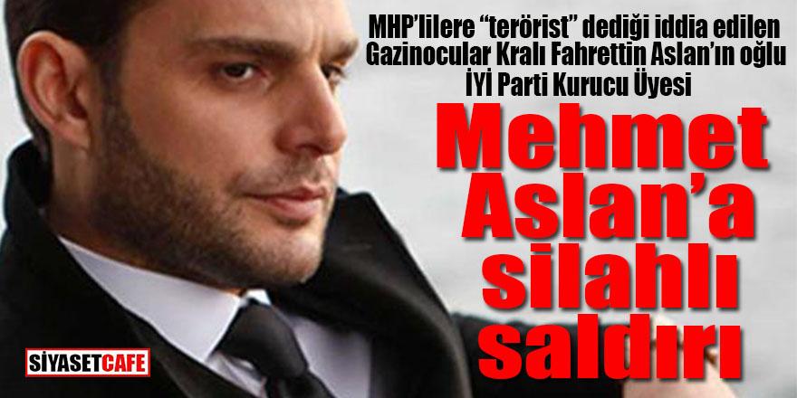 İYİ Parti Kurucusu Mehmet Aslan'a silahlı saldırı