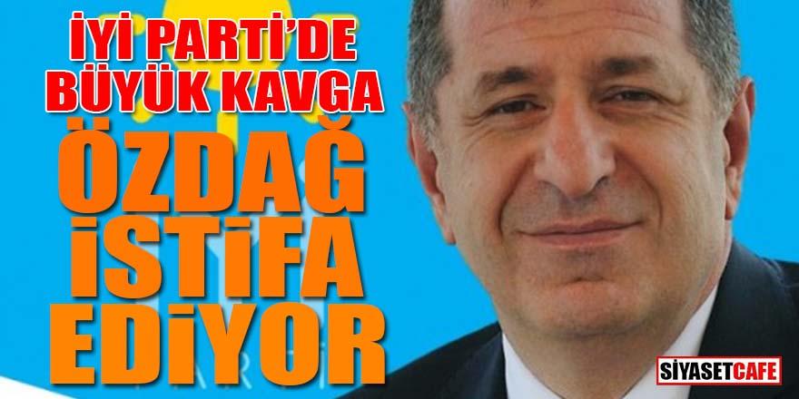 İYİ Parti'de büyük kavga: Ümit Özdağ istifa ediyor!
