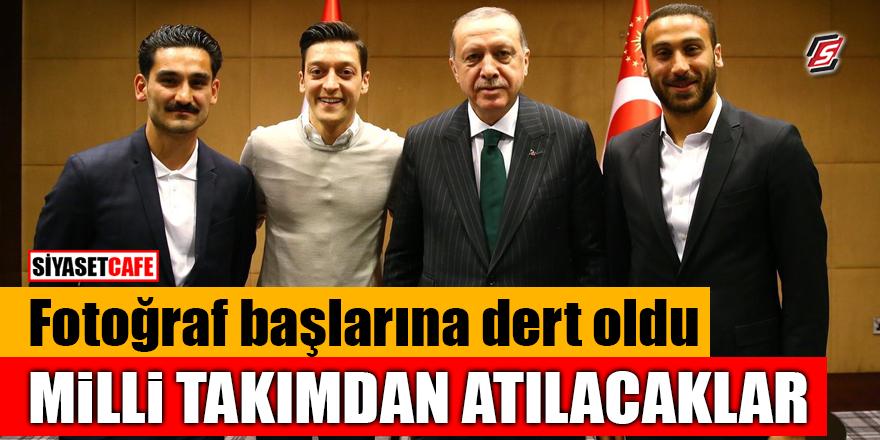 Erdoğan ile fotoğraf başlarına dert oldu! Milli Takımdan atılacaklar