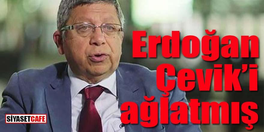 Erdoğan, İlnur Çevik'i ağlatmış!