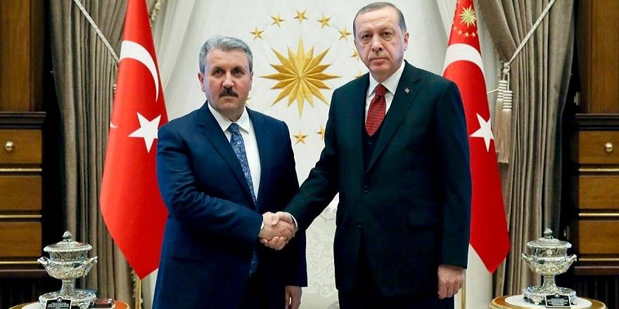 Mustafa Destici Meclise girdi mi?
