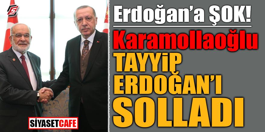 Karamollaoğlu, Tayyip Erdoğan'ı solladı