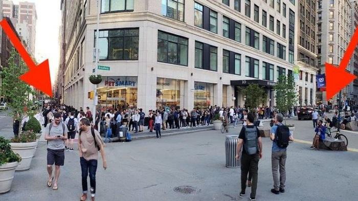 iPhone X katili için saatlerce kuyrukta beklediler