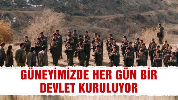 PKK'nın uzantısı PYD'den 3. özerklik ilanı