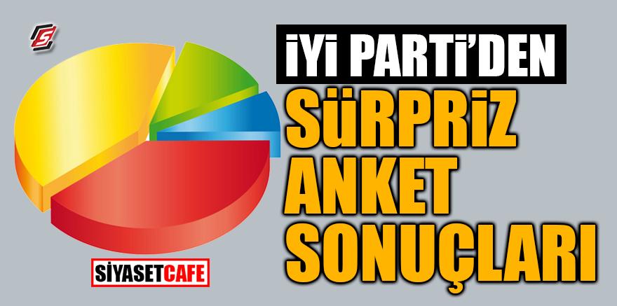 İYİ Parti'den sürpriz anket sonuçları