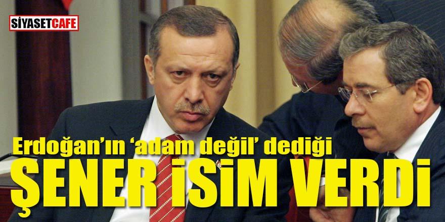 Abdullatif Şener Erdoğan'ın ABD'ye kimle gittiğini açıkladı