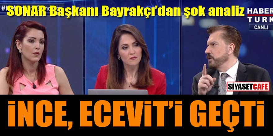 Hakan Bayrakçı'dan şok Muharrem İnce analizi: Ecevit'i geçti!