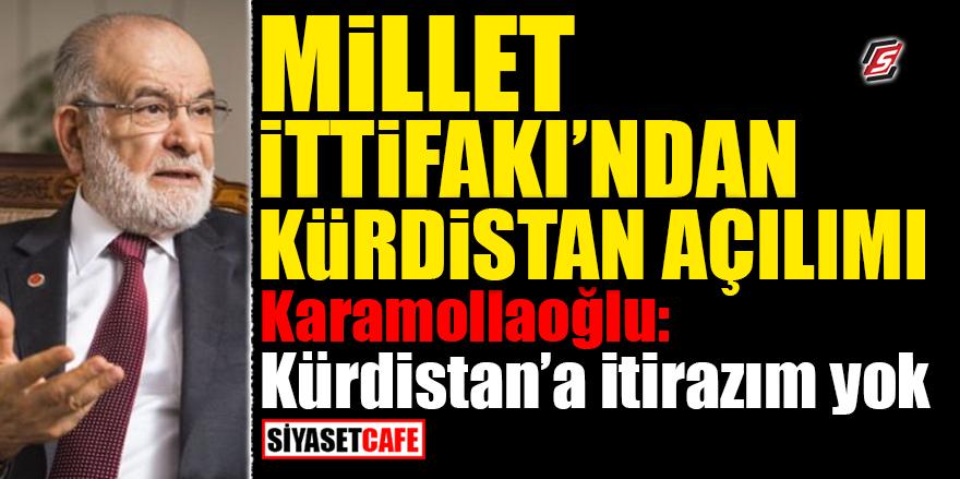 Millet İttifakından Kürdistan açılımı! Karamollaoğlu: Kürdistan'a itirazım yok