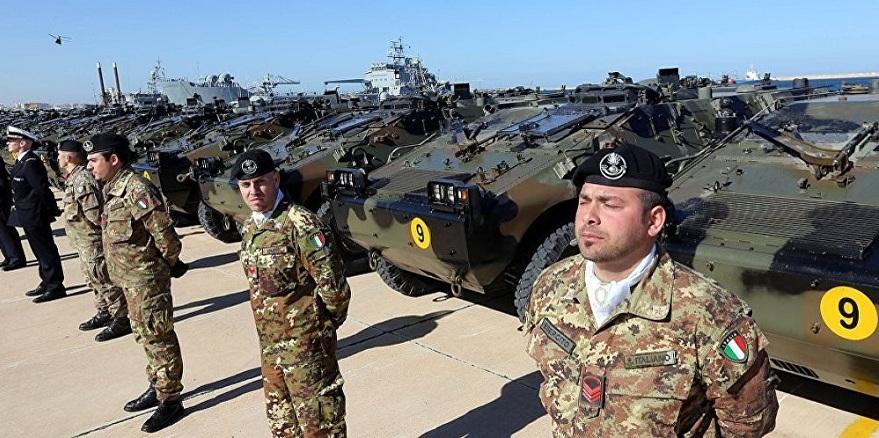 İtalya'da YPG'ye destek için asker gönderdi