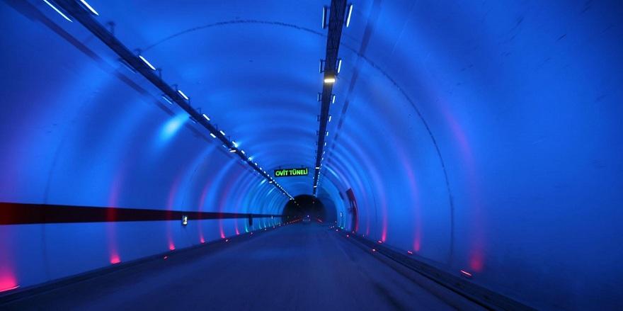 Türkiye'nin en uzun tüneli açılıyor