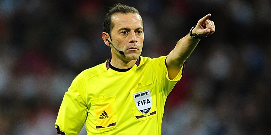 Çakır'ın Dünya Kupası'nda yöneteceği ilk maç belli oldu
