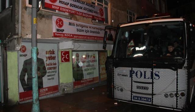 MHP saldırısına 5 tutuklama