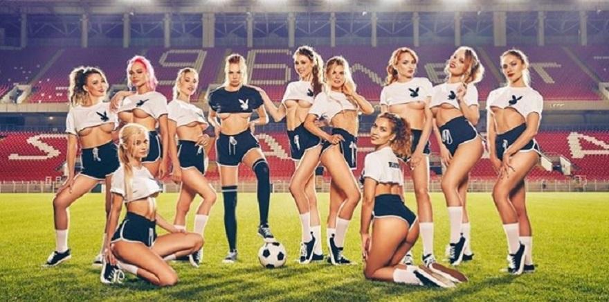 Playboy'dan olay Dünya Kupası kapağı