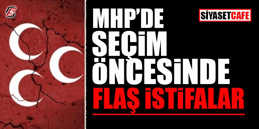 MHP'den seçim öncesi flaş istifalar