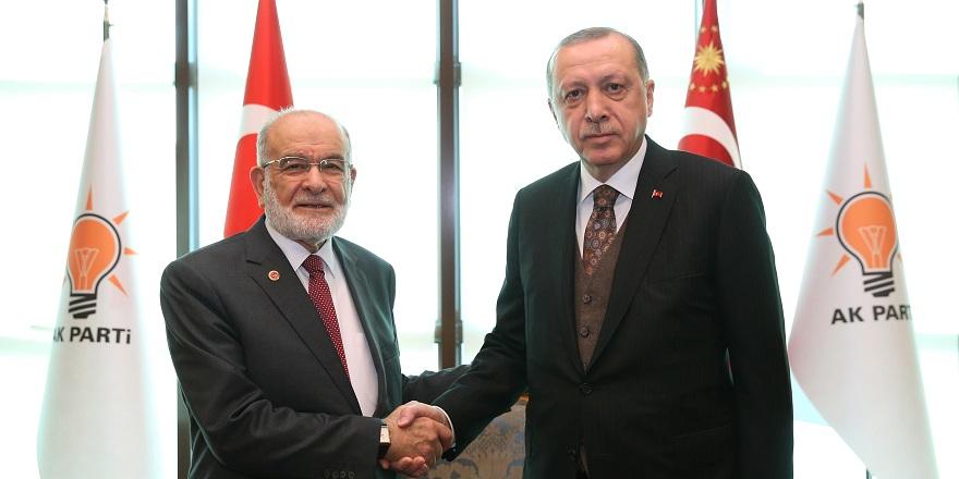 Saadet'ten Erdoğan'a sürpriz barış çağrısı