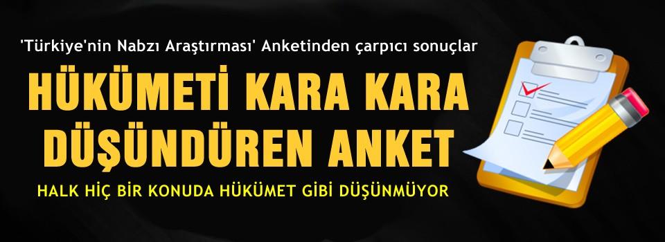 'Türkiye'nin nabzı' araştırması