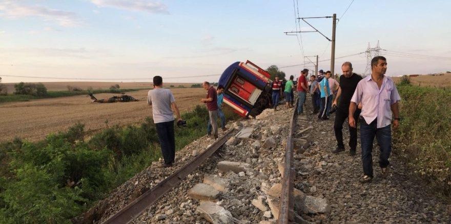 İşte Çorlu'daki tren kazasının nedeni!