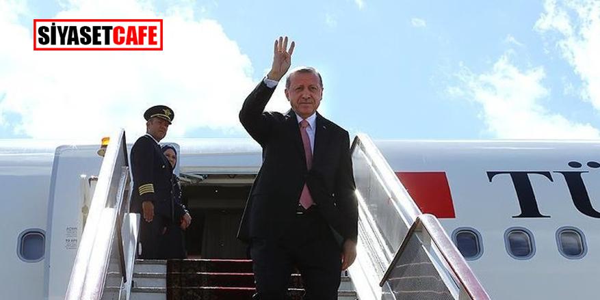 Erdoğan yola çıktı