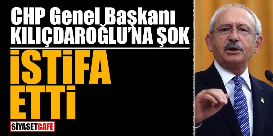 CHP Lideri Kılıçdaroğlu'na şok! İSTİFA ETTİ