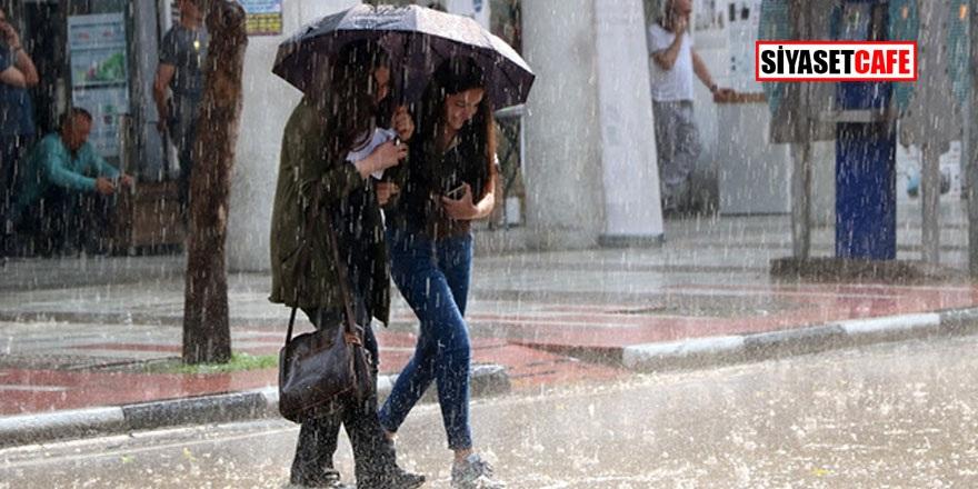 Meteoroloji'den O illere sağanak uyarısı! Arasında İstanbul'da var