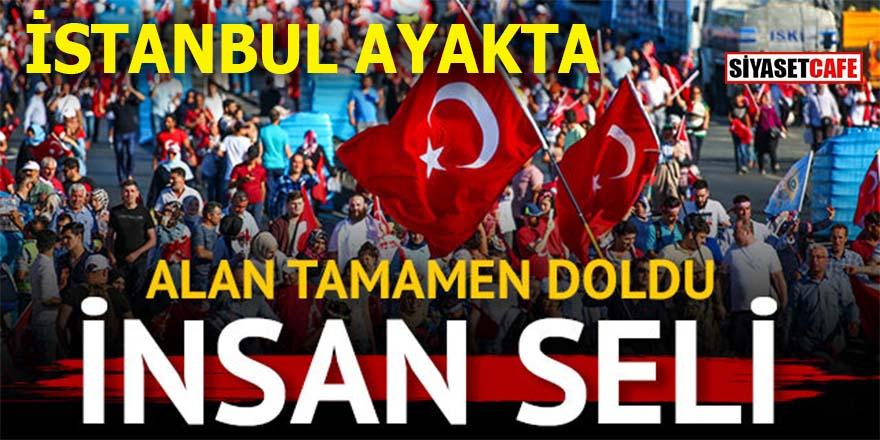 İstanbul ayakta: Milyonlar Köprü'ye aktı