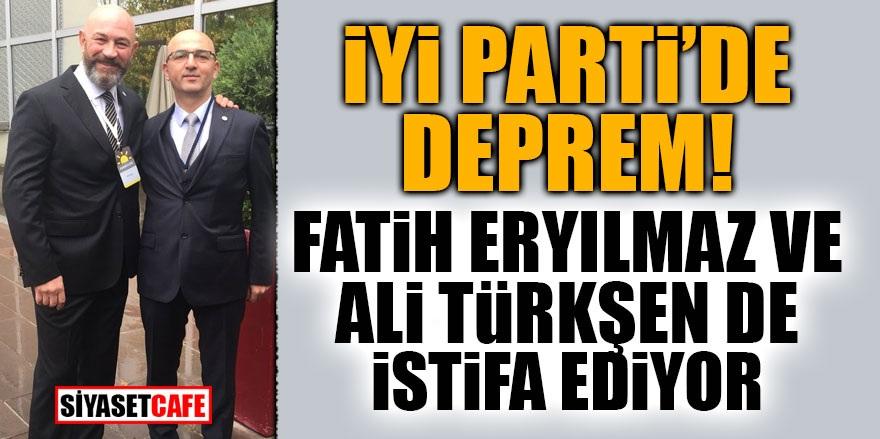İYİ Parti'de deprem! Fatih Eryılmaz ve Ali Türkşen'de istifa ediyor
