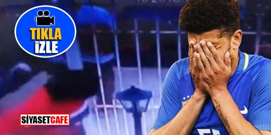 Yıldız futbolcunun annesi kaçırıldı! Şok görüntüler