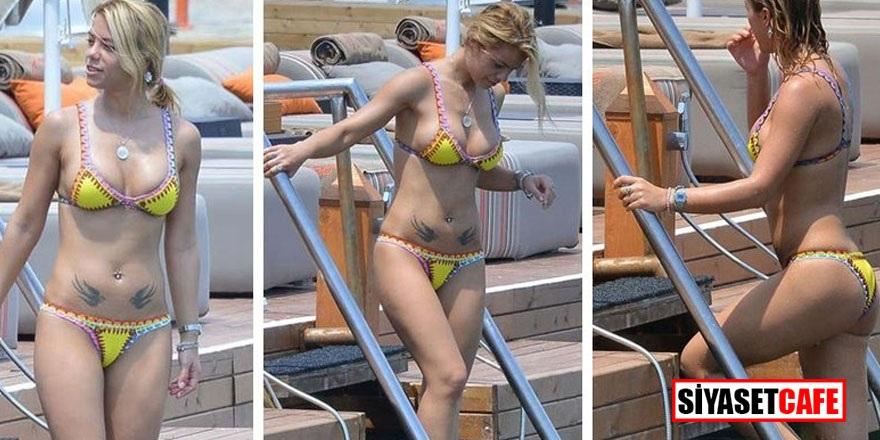 Şarkıcı Kendi'nin bikini isyanı!