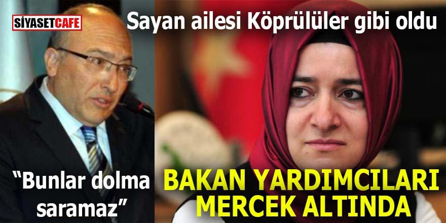 Erdoğan'ın Bakan Yardımcıları mercek altında